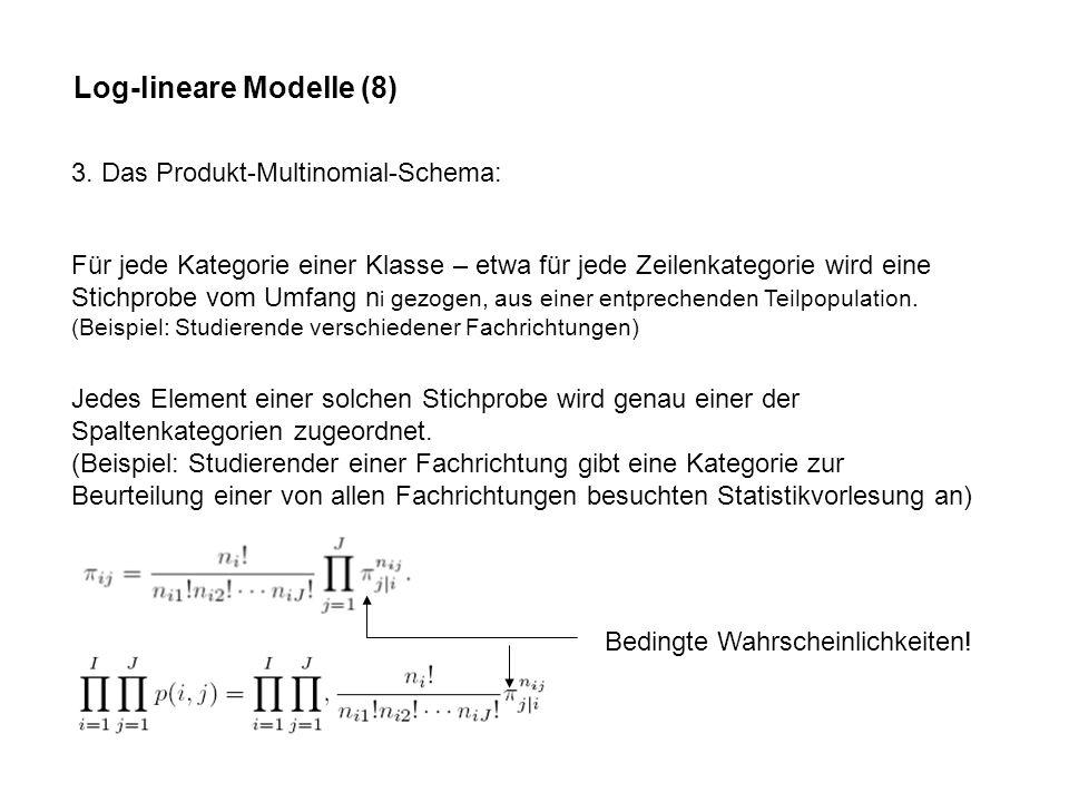 Log-lineare Modelle (8)