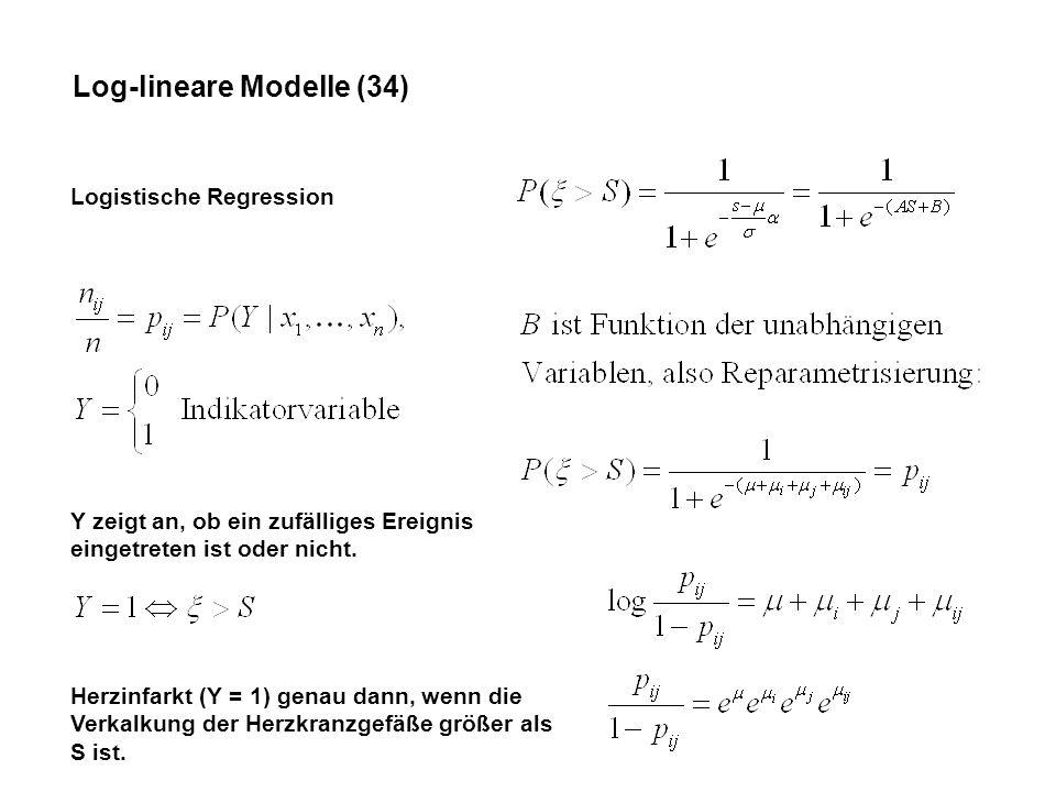 Log-lineare Modelle (34)