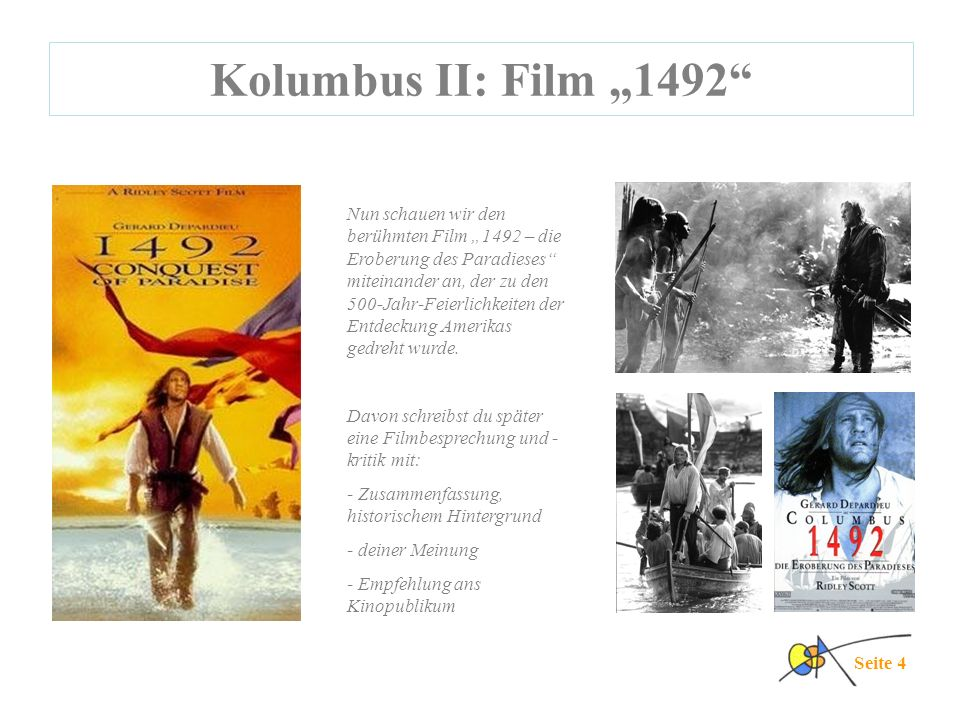 "Kolumbus II: Film ""1492"