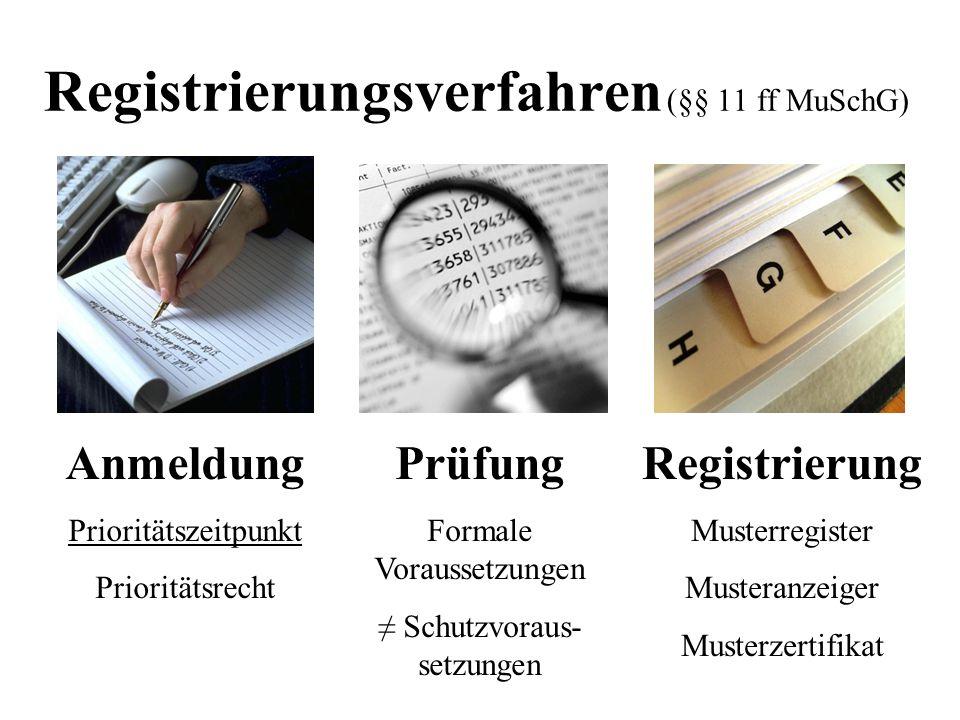 Registrierungsverfahren (§§ 11 ff MuSchG)