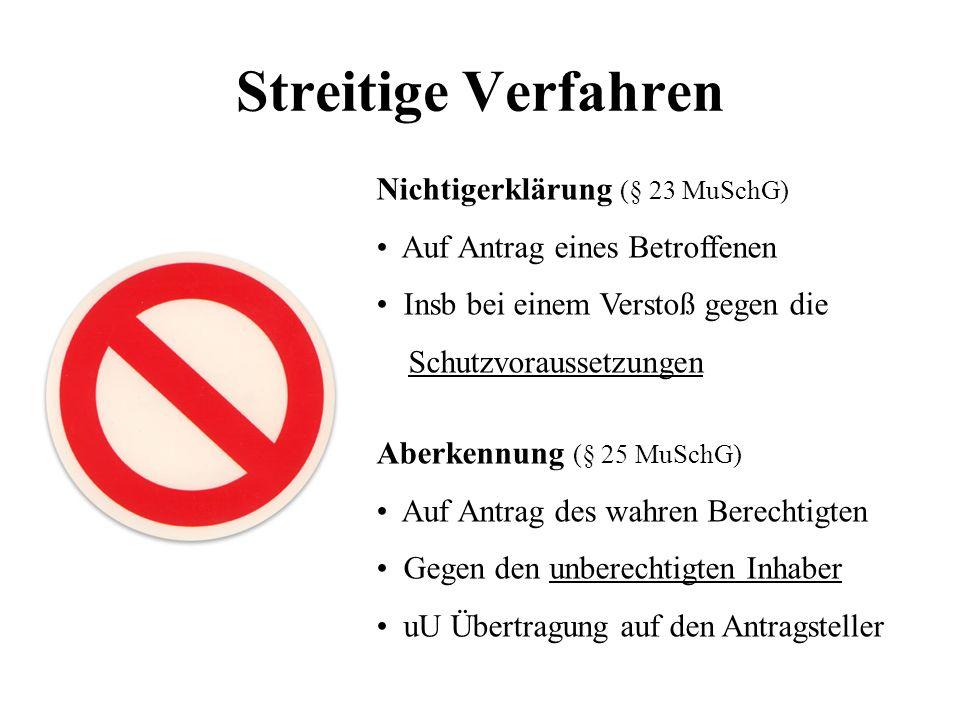 Streitige Verfahren Nichtigerklärung (§ 23 MuSchG)