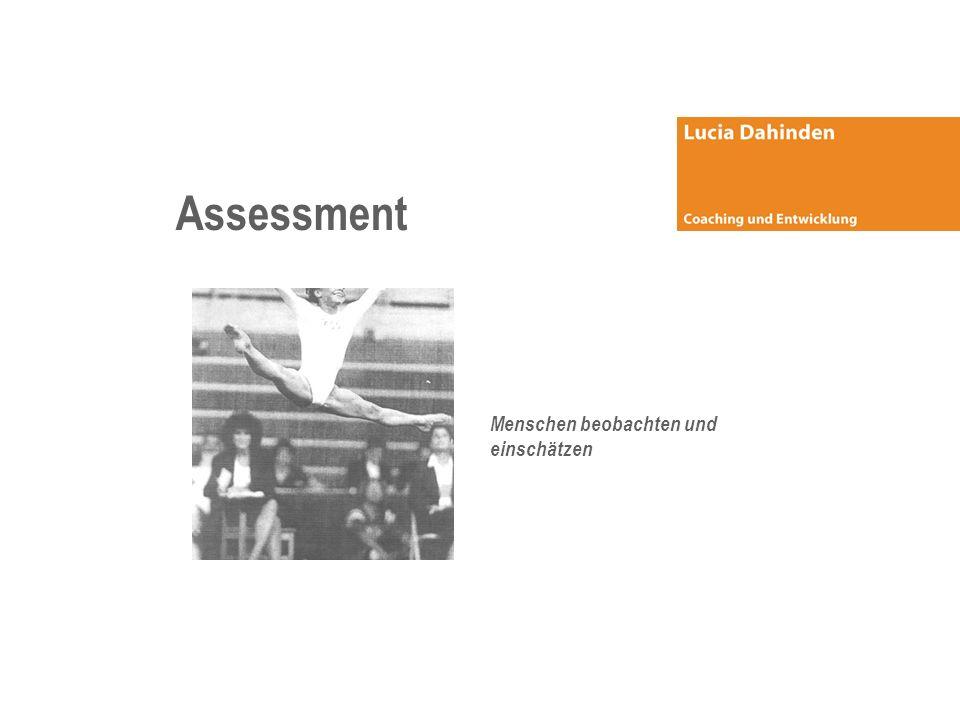 Assessment Menschen beobachten und einschätzen
