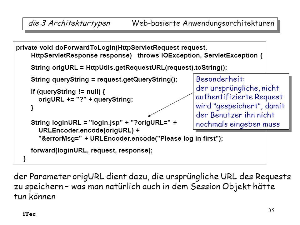 der Parameter origURL dient dazu, die ursprüngliche URL des Requests
