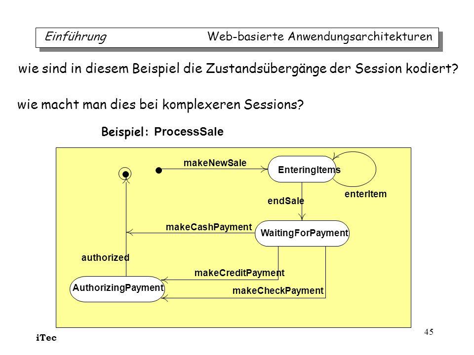 wie sind in diesem Beispiel die Zustandsübergänge der Session kodiert