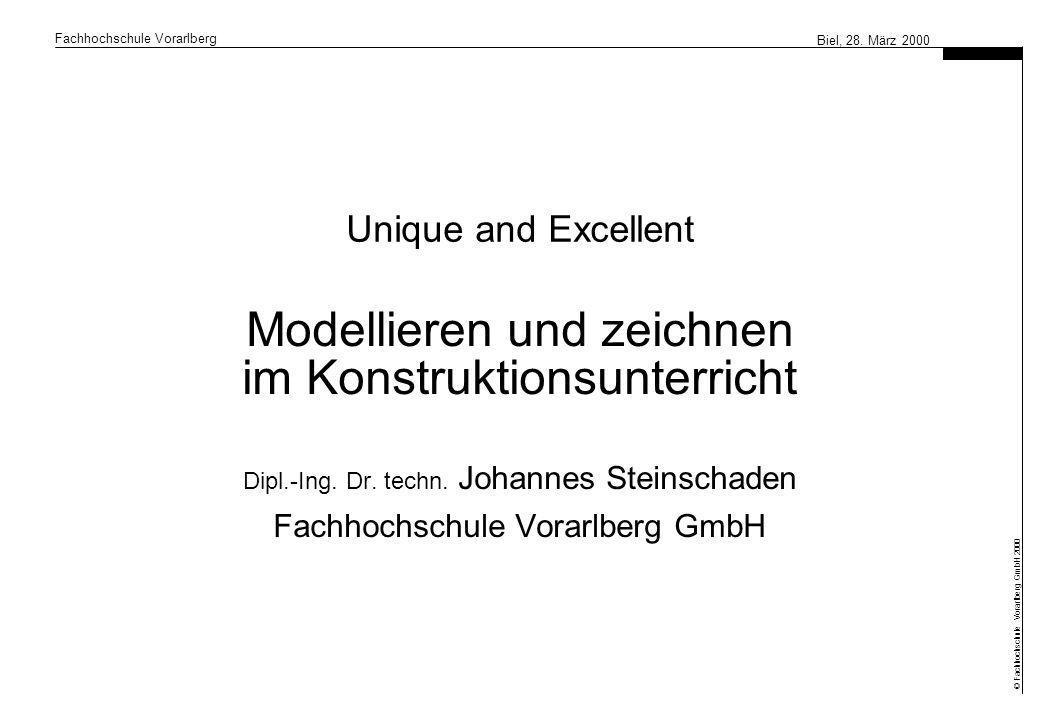 Modellieren und zeichnen im Konstruktionsunterricht