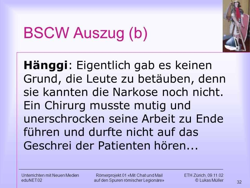 BSCW Auszug (b)