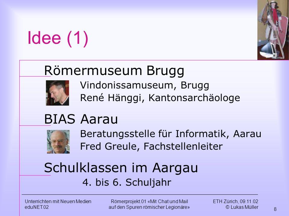 Idee (1) Römermuseum Brugg BIAS Aarau Schulklassen im Aargau