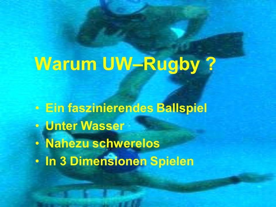 Warum UW–Rugby Ein faszinierendes Ballspiel Unter Wasser