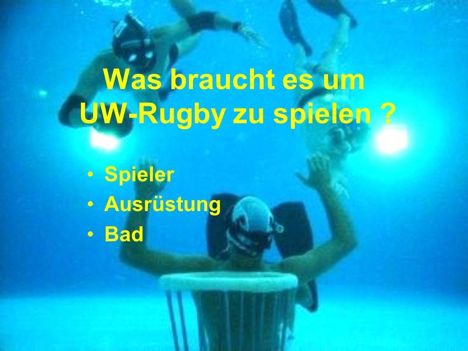Was braucht es um UW-Rugby zu spielen