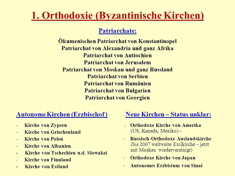 Neue Kirchen – Status unklar: