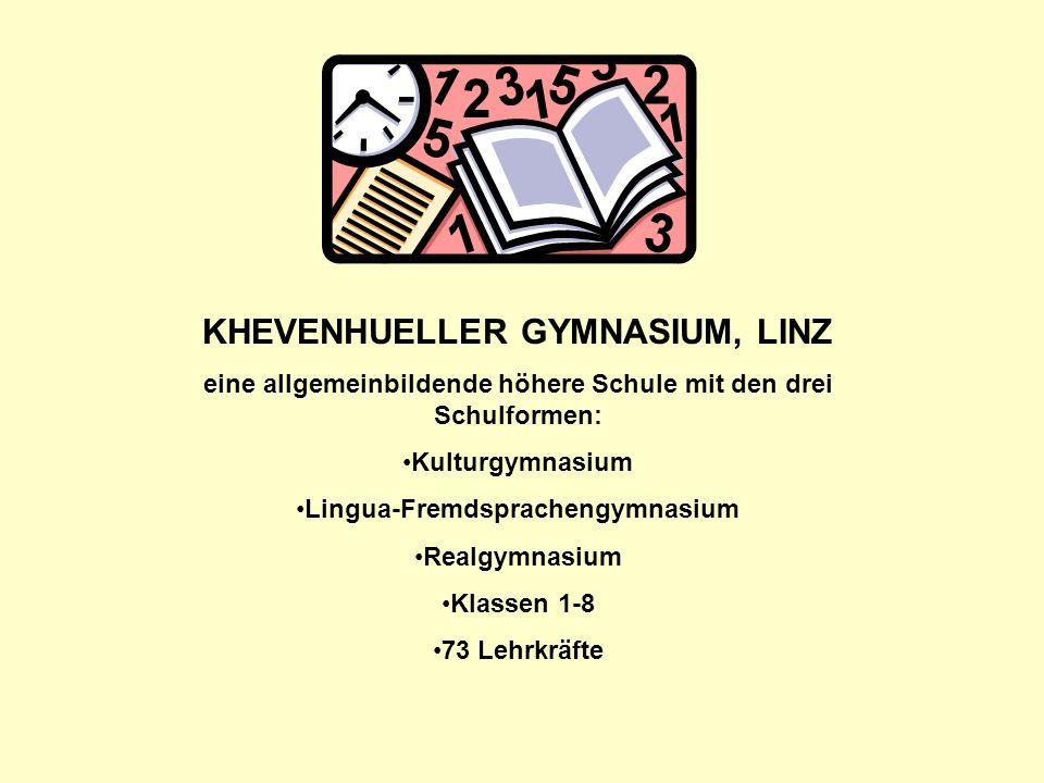 KHEVENHUELLER GYMNASIUM, LINZ