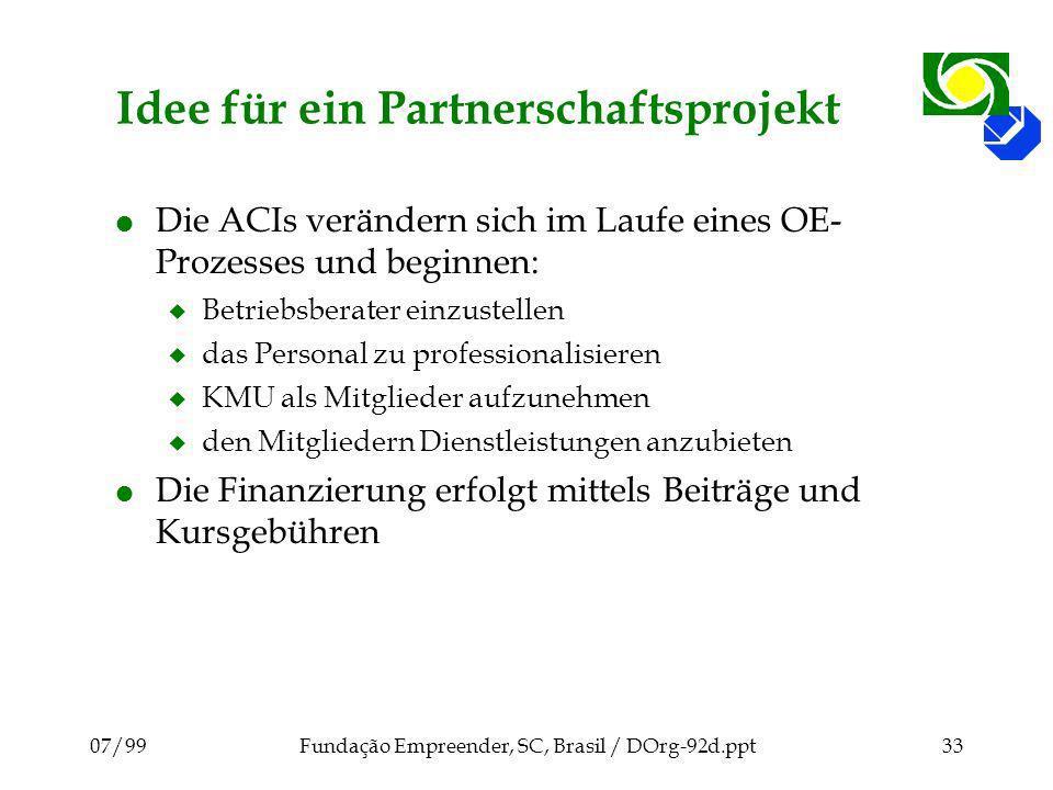 Idee für ein Partnerschaftsprojekt