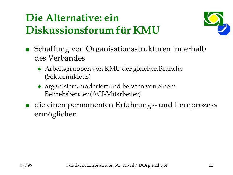 Die Alternative: ein Diskussionsforum für KMU