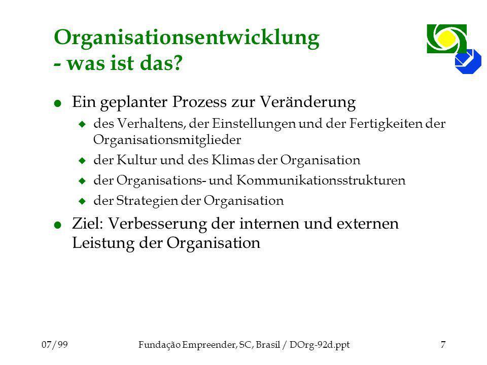 Organisationsentwicklung - was ist das