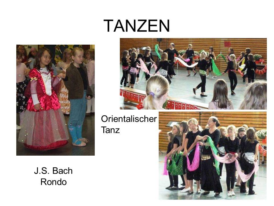 TANZEN Orientalischer Tanz J.S. Bach Rondo