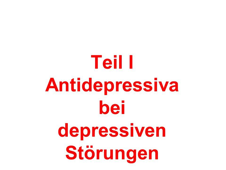 Teil I Antidepressiva bei depressiven Störungen