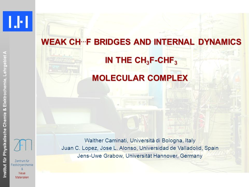 WEAK CH…F BRIDGES AND INTERNAL DYNAMICS