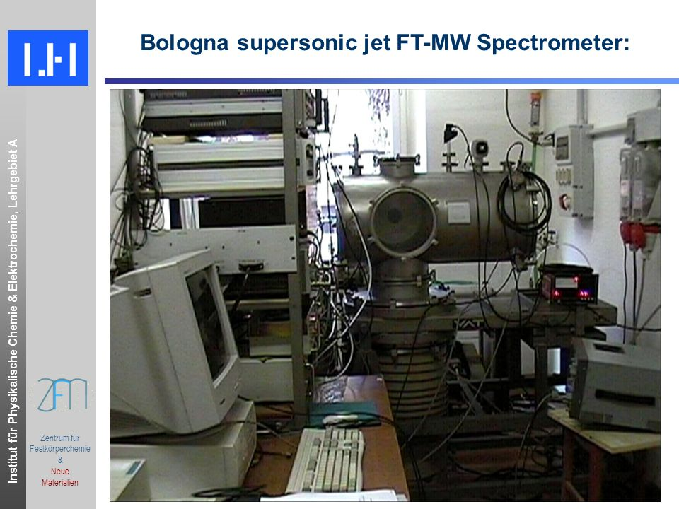 Bologna supersonic jet FT-MW Spectrometer: