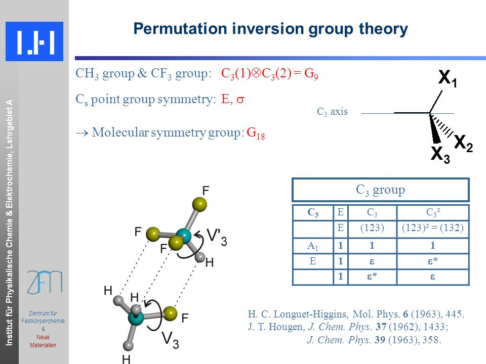 Permutation inversion group theory