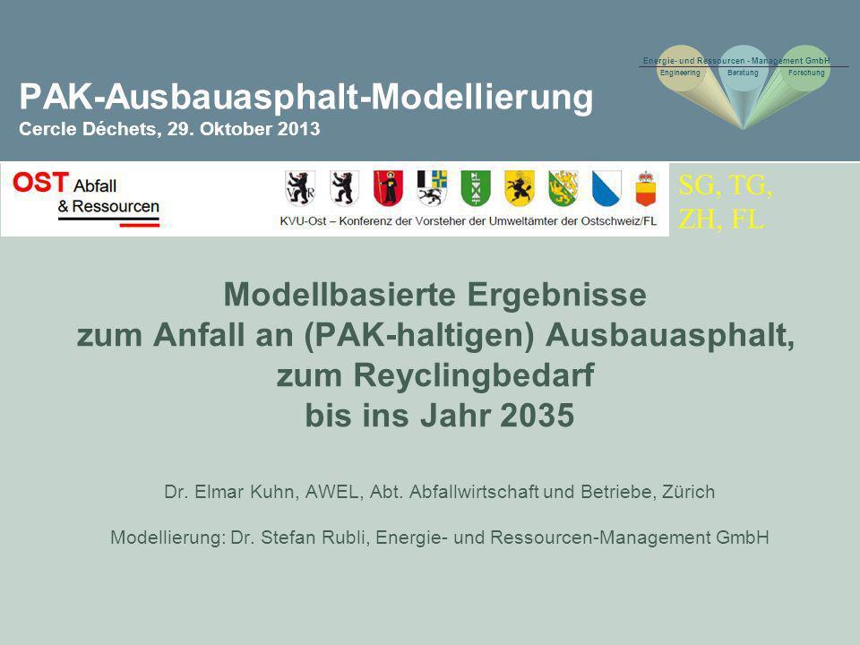PAK-Ausbauasphalt-Modellierung