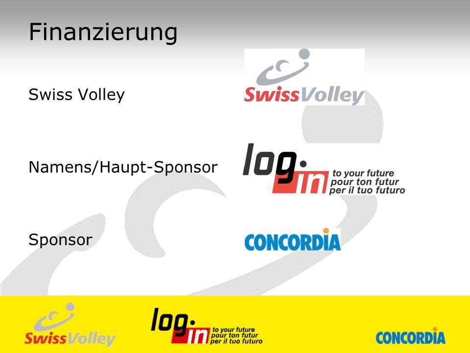 Finanzierung Swiss Volley Namens/Haupt-Sponsor Sponsor