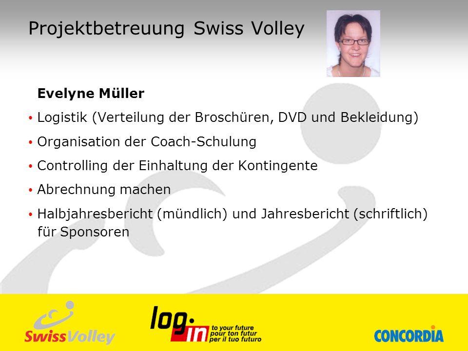 Projektbetreuung Swiss Volley