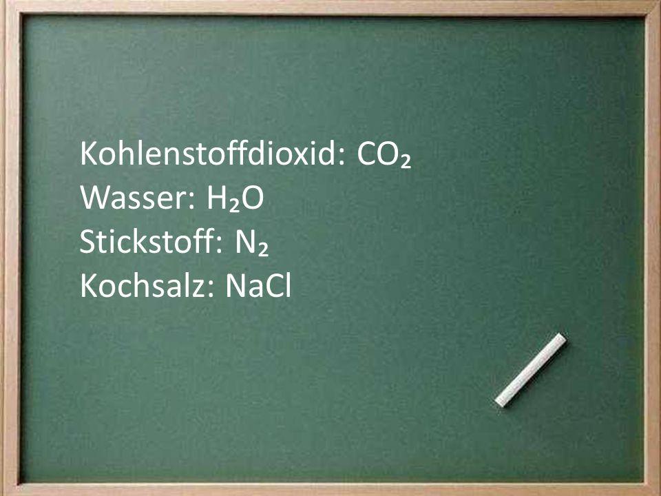 Kohlenstoffdioxid: CO₂