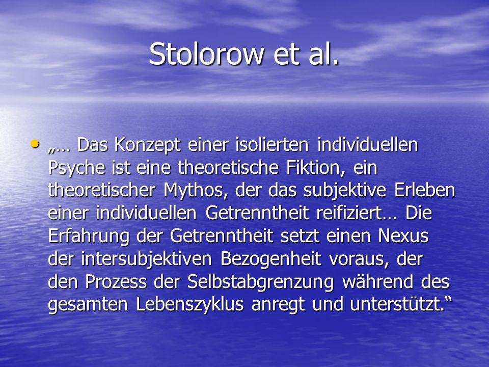 Stolorow et al.
