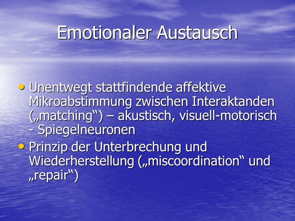 Emotionaler Austausch