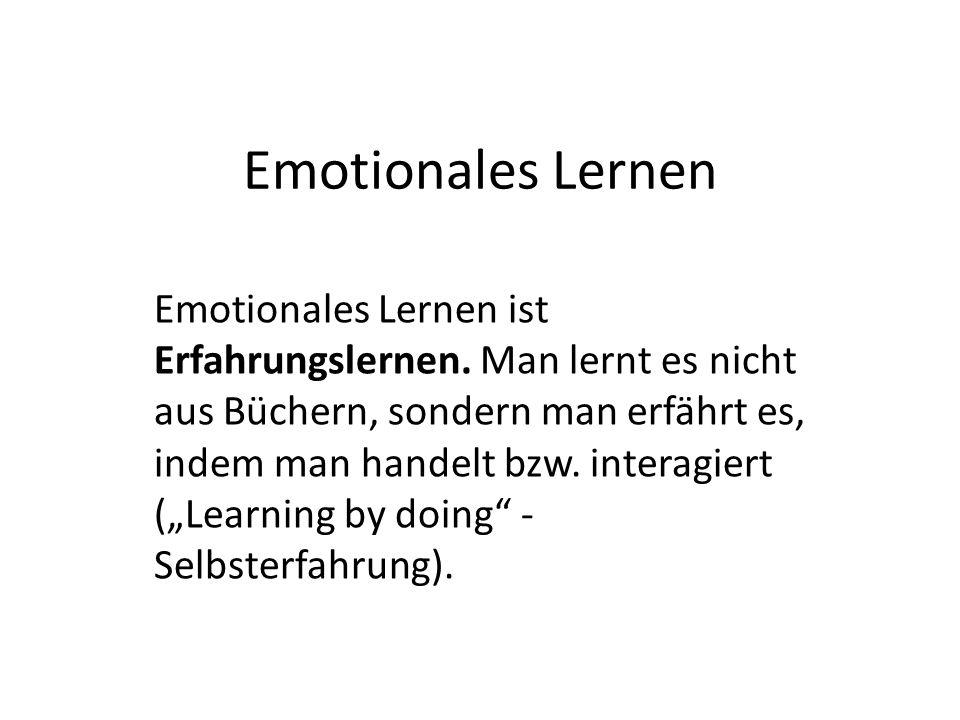 Emotionales Lernen