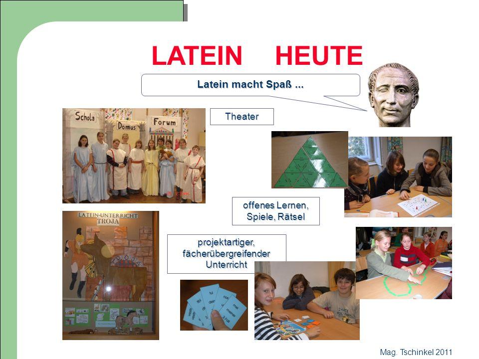 LATEIN HEUTE Latein macht Spaß ... Theater