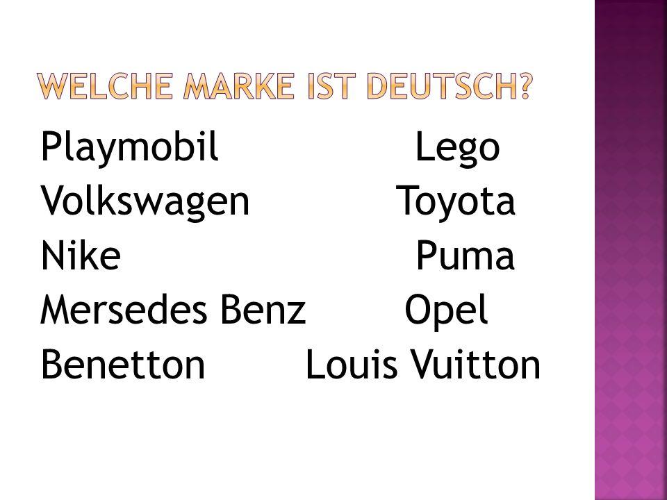 Welche Marke ist deutsch
