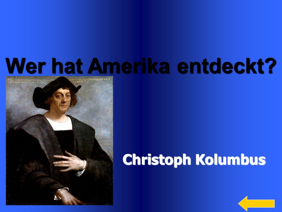Wer hat Amerika entdeckt