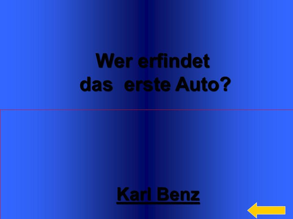 Wer erfindet das erste Auto Karl Benz Welcome to Power Jeopardy