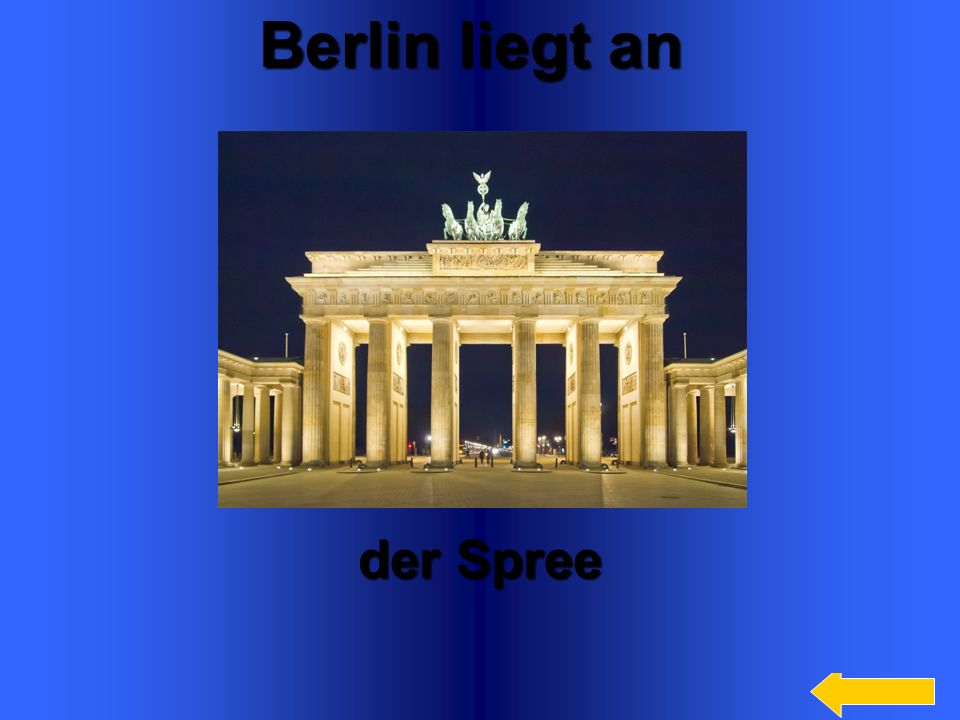Berlin liegt an der Spree Welcome to Power Jeopardy