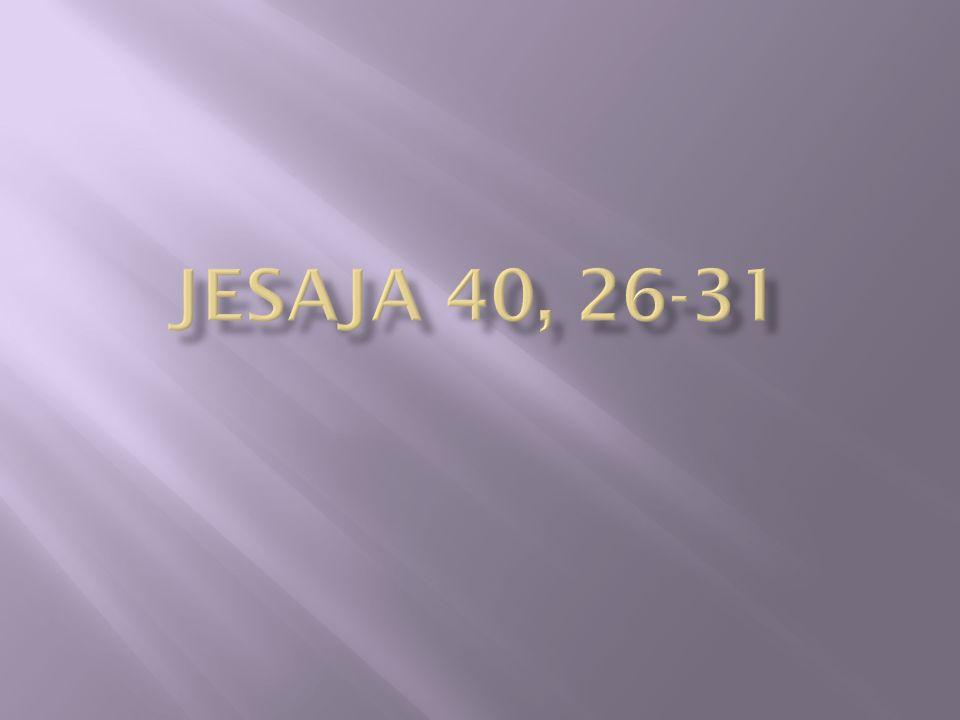 Jesaja 40, 26-31