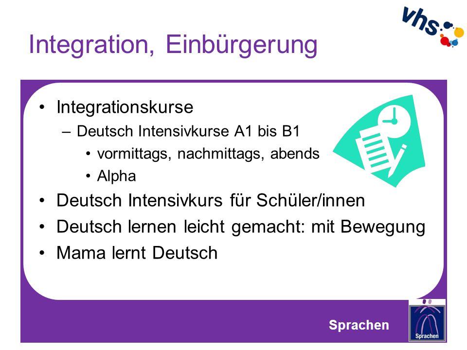 Integration, Einbürgerung
