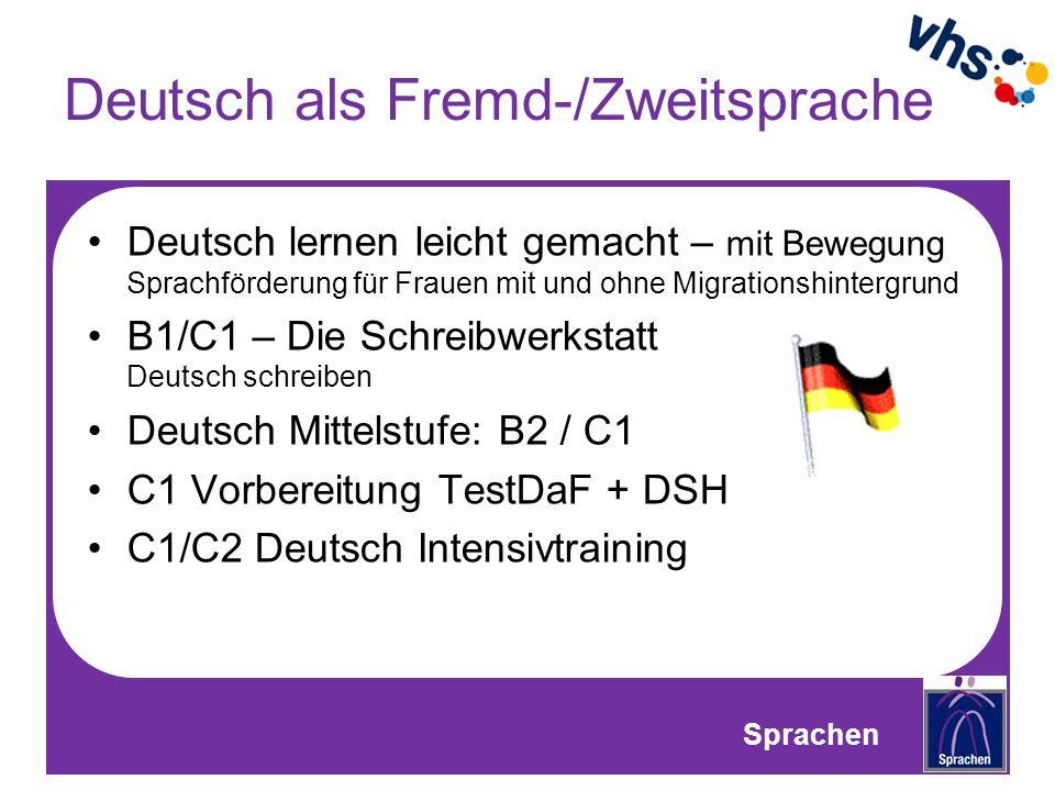 Deutsch als Fremd-/Zweitsprache