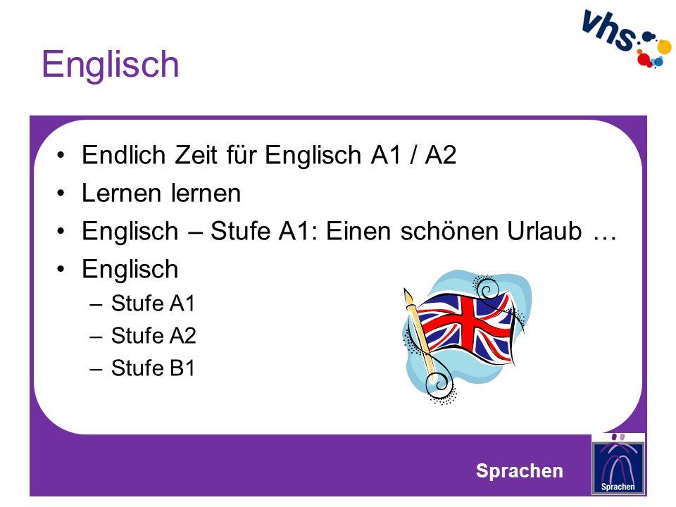 Englisch Endlich Zeit für Englisch A1 / A2 Lernen lernen