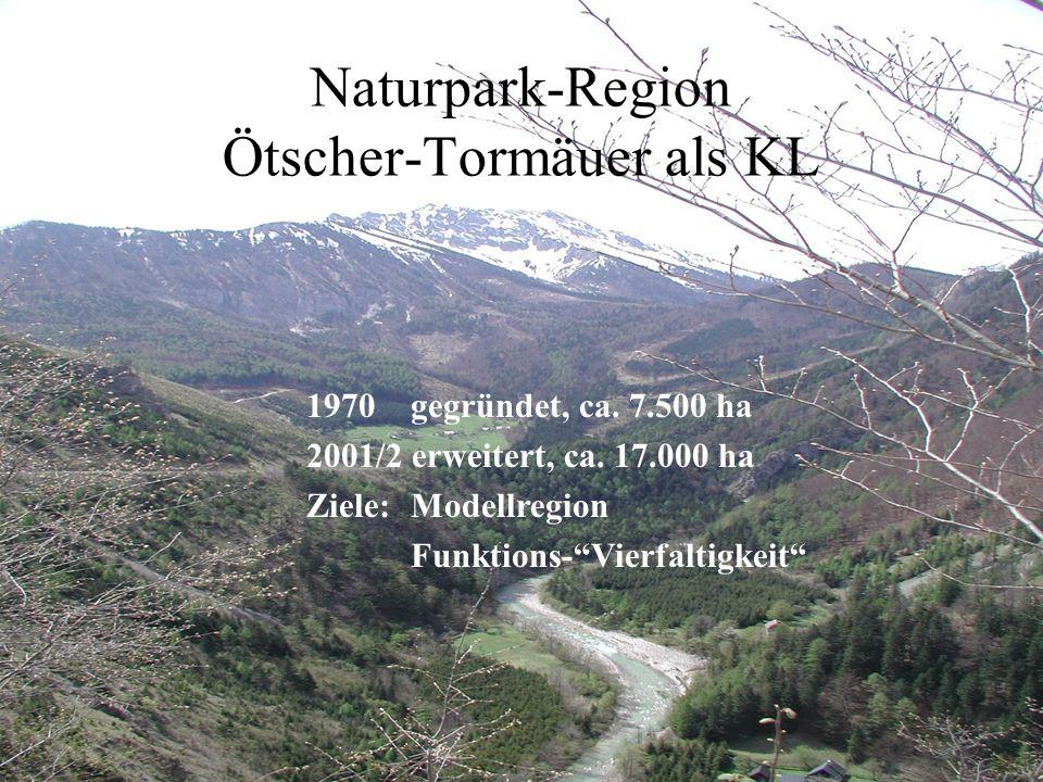 Naturpark-Region Ötscher-Tormäuer als KL