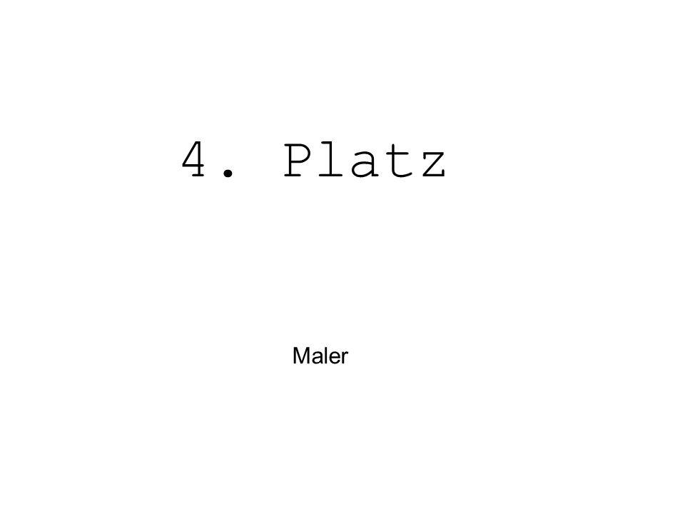 4. Platz Maler
