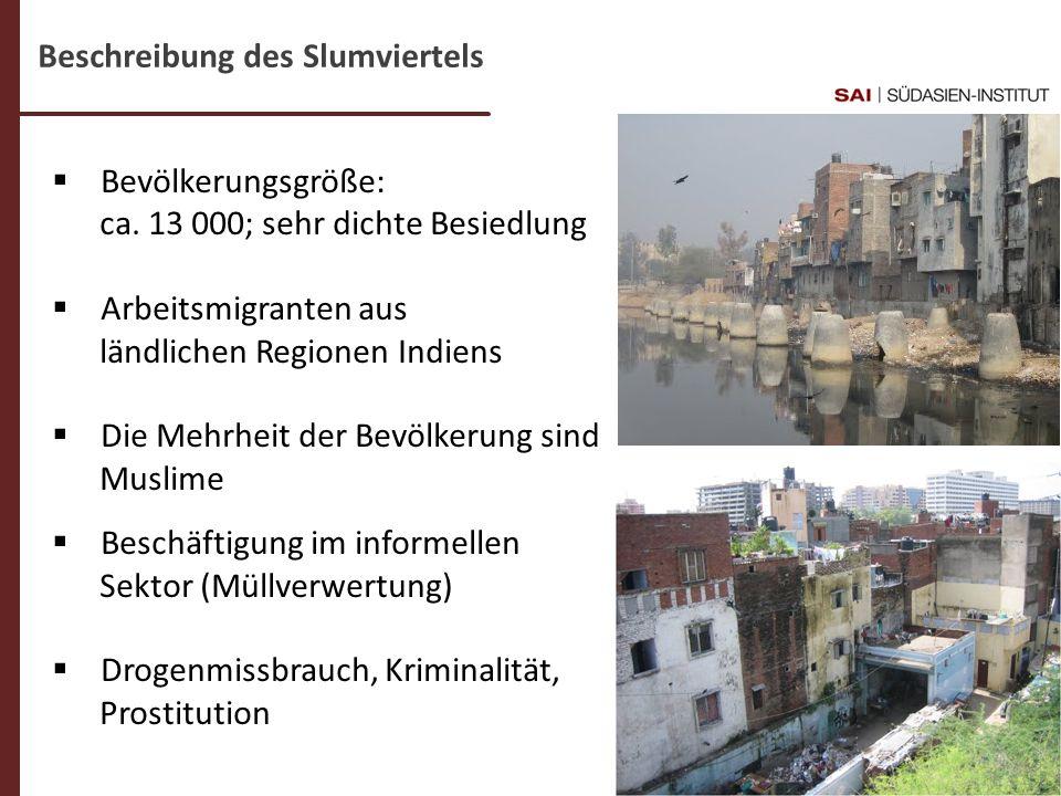 Beschreibung des Slumviertels