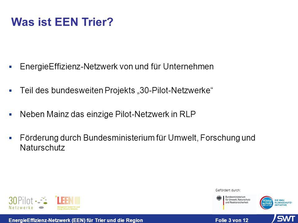 Was ist EEN Trier EnergieEffizienz-Netzwerk von und für Unternehmen