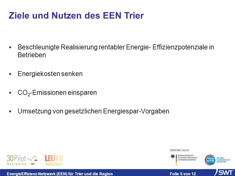 Ziele und Nutzen des EEN Trier