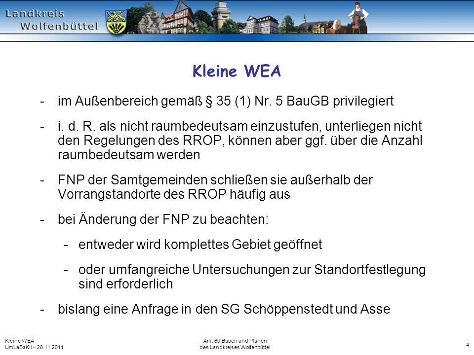 des Landkreises Wolfenbüttel