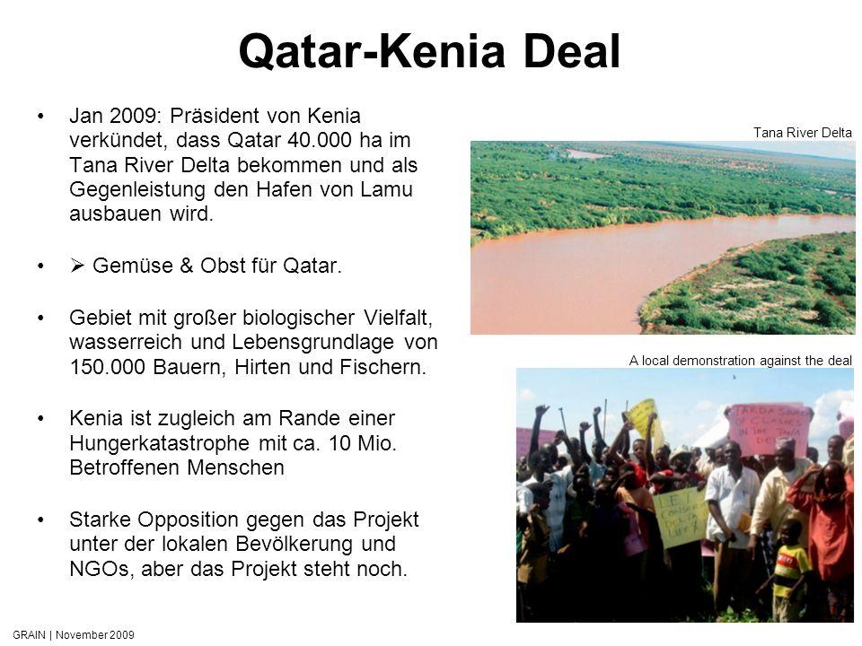 Qatar-Kenia Deal