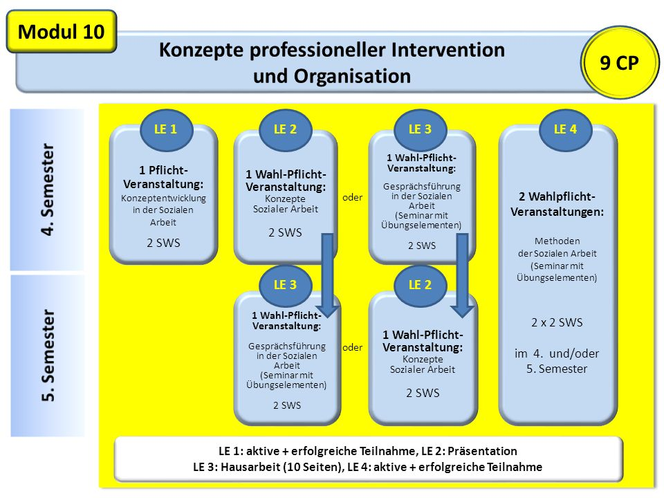 Modul 10 9 CP Konzepte professioneller Intervention und Organisation