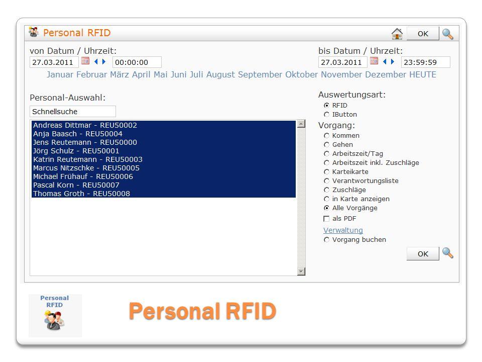 Personal RFID