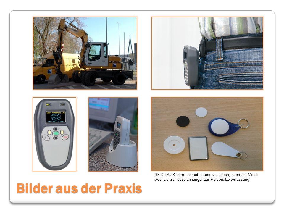 RFID-TAGS zum schrauben und verkleben, auch auf Metall
