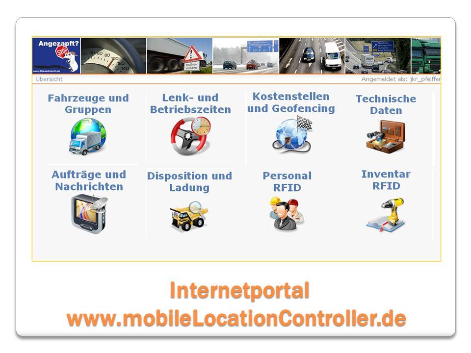 Internetportal www.mobileLocationController.de